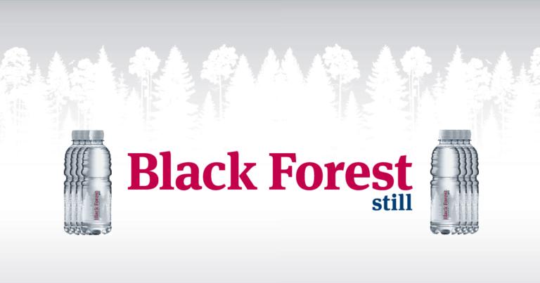 Wasser für die eSportler – Black Forest still
